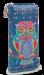 Dámská peněženka s motivem sovy modrá