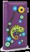 Dámská peněženka s aplikací chameleon fialová