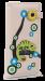 Dámská peněženka s aplikací chameleon přírodní