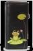 Dámská peněženka s aplikací žabky černá