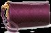 Luxusní dámská peněženka fialové tóny