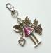 ANDĚLKA s růžovou sukýnkou - přívěšek