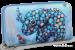 Dámská peněženka s motivem slona modrá
