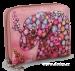 Dámská peněženka menší s motivem slona růžová