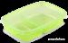 Duo box zelený