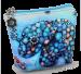 Pouzdro/peněženka s motivem slona modrá