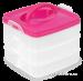 Univerzální trojbox růžový