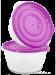2ks MÍSO-BOX 1400 ml s odměrkami fialový