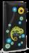 Dámská peněženka s aplikací chameleon černá