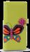 Dámská peněženka s aplikací motýla zelená